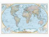 National Geographic Executive World Map Wall Mural $11 69 Maps N Globes