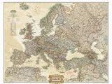 National Geographic Executive World Map Wall Mural Craenen National Geographic Flat Maps