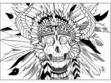 Native American Coloring Pages for Elementary Students Sugar Skull Coloring Pages