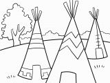 Native American Coloring Pages for Preschoolers Native American Activity Sheets for Kids