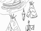Native American Coloring Pages for Preschoolers Native American Coloring Pages for Preschoolers Coloring
