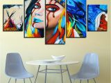 Native American Indian Wall Murals 2019 Canvas Wall Art Hd Prints Paintings Indians Feathers American