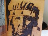 Native American Indian Wall Murals A Proud Cheyenne Indian Warrior Handmade Wood Carved Native