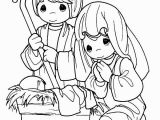 Nativity Coloring Page Lds Christmas Nativity Clip Art Black and White Car