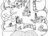 Nativity Coloring Page Lds Mormon Book Mormon Stories