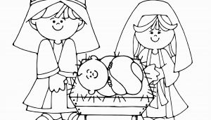 Nativity Scene Coloring Pages Printable Free Free Printable Nativity Coloring Pages for Kids Best