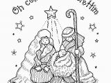Nativity Scene Coloring Pages Printable Free Free Printable Nativity Coloring Pages for Kids