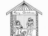 Nativity Scene Coloring Pages Printable Free Free Printable Nativity Scene Coloring Pages