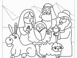 Nativity Scene Coloring Pages Printable Free Nativity Characters Coloring Activities Coloring Pages