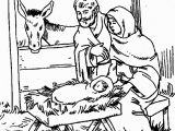 Nativity Scene Coloring Pages Printable Free Printable Nativity Stable Template