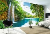 Nature 3d Wall Murals Custom 3d Wall Mural Wallpaper Home Decor Green Mountain