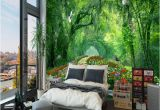 Nature 3d Wall Murals Nature Landscape 3d Wall Mural Wallpaper Wood Park Small Road Mural Living Room Tv Backdrop Wallpaper for Bedroom Walls Canada 2019 From Arkadi