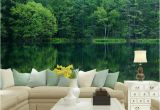 Nature Murals for Walls Home Fice Decor Mural Wall Papers 3d Nature Green forest Landscape