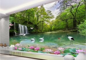 Nature Murals for Walls Wallpaper Customized Natural Scenery Wallpaper for Walls 3 D