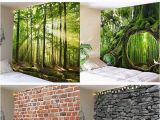 Nature Wall Mural Ideas Nature and Stone Print Wall Tapestries