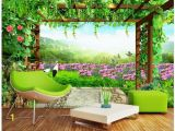 Nature Wall Mural Paintings 3d Wallpaper Custom Photo Non Woven Mural Wall Sticker 3 D Grape