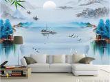 Nature Wall Murals Cheap Customized Wallpaper 3d Wall Murals Wallpaper Ink Painting