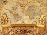 Nautical Map Wall Mural 3d Stereo Custom Wallpaper Western Palace Ancient Europe Nautical Retro Map Wallpaper Living Room Mural Widescreen Wallpapers Hd Widescreen Wallpapers