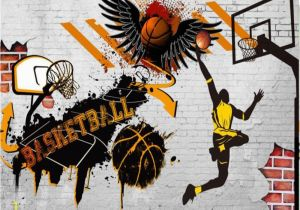 Nba Wall Murals Beibehang Custom Wallpaper Living Room Bedroom Background 3d