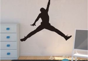 Nba Wall Murals Michael Jordan Chicago Bulls Wall Sticker Living Room Nba Basketball
