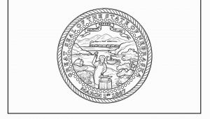 Nebraska Flag Coloring Page Flag Of Nebraska Coloring Page