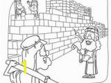 Nehemiah Builds the Wall Coloring Page 154 Best Old Test Coloring Pages Images