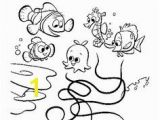 Nemo and Friends Coloring Pages Finding Nemo Coloring Pages Bing Finding Nemo