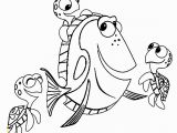 Nemo and Friends Coloring Pages Nemo Coloring Pages Free Finding Dory Coloring Pages Beautiful Free