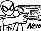 Nerf Blaster Coloring Page Pin On Printableshelter