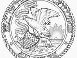 Nevada State Seal Coloring Page Nevada State Seal Coloring Page Nevada History Pinterest
