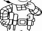 New Bob the Builder Coloring Pages Nice Bob the Builder Think Coloring Page