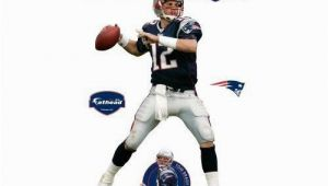 New England Patriots Wall Mural Amazon Fathead tom Brady New England Patriots Wall