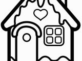 New House Coloring Pages How to Draw A House for Christmas Christmas House Coloring