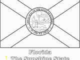New Jersey State Flag Coloring Page Printable Florida State Flag to Color From Netstate