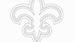 New orleans Saints Logo Coloring Pages New orleans Saints Logo Coloring Page