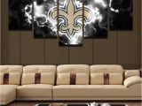New orleans Wall Murals New orleans Saints Football Canvas Print