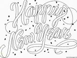 New Year Coloring Pages Free Printables Happy New Year 2019 Printable Coloring Page Coloring Pages Printable