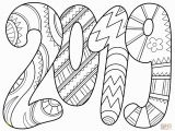 New Year S Eve Coloring Pages Free Printable 2019 Coloring Page