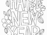New Year S Eve Coloring Pages Free Printable Happy New Year with Images