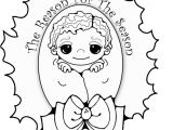 New Years Coloring Pages Printable New Years Baby Coloring Page