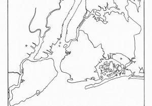 New York City Coloring Pages for Kids New York City Boroughs Coloring Activity for Kids