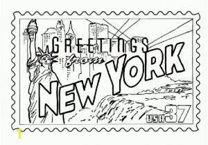 New York City Coloring Pages for Kids New York Skyline Drawing Color at Getdrawings