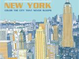 New York City Skyline Coloring Pages Buy Ultimate Coloring New York Color the City that Never