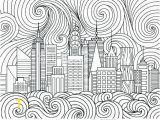 New York City Skyline Coloring Pages Skyline Coloring Pages – Cingularfo
