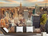 New York City Wall Mural Wallpaper Custom 3d Stereo Latest Outside the Window New York City Landscape Wall Mural Fice Living Room Decor Wallpaper I Hd Wallpapers I