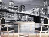 New York City Wall Murals Cheap Custom Mural Manhattan Bridge New York European and American Cities