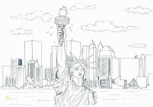 New York Knicks Coloring Pages Coloring Pages New York Coloring Pages Printable Statue Of Liberty