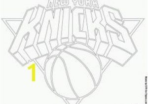 New York Knicks Coloring Pages Houston Rockets Logo Nba Coloring Pages