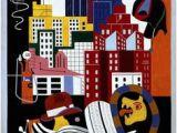New York Mural Stuart Davis 346 Best Stuart Davis Images