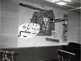 New York Mural Stuart Davis Dedication Of Wnyc Studio Murals the Nypr Archive Collections